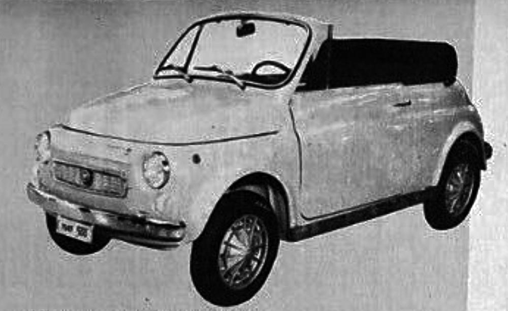 Fiat – 500 Maggiolina