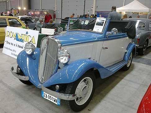Fiat – 508 Balilla Cabriolet
