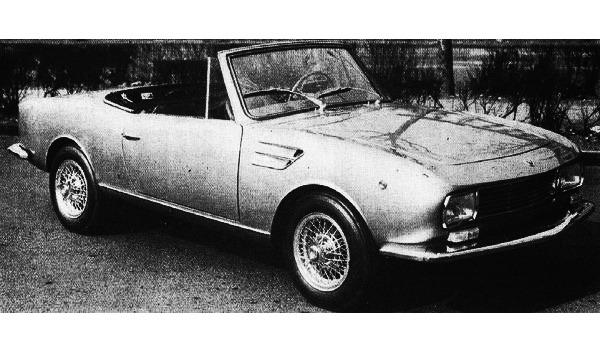 Fiat – 1100 R Spider OSI