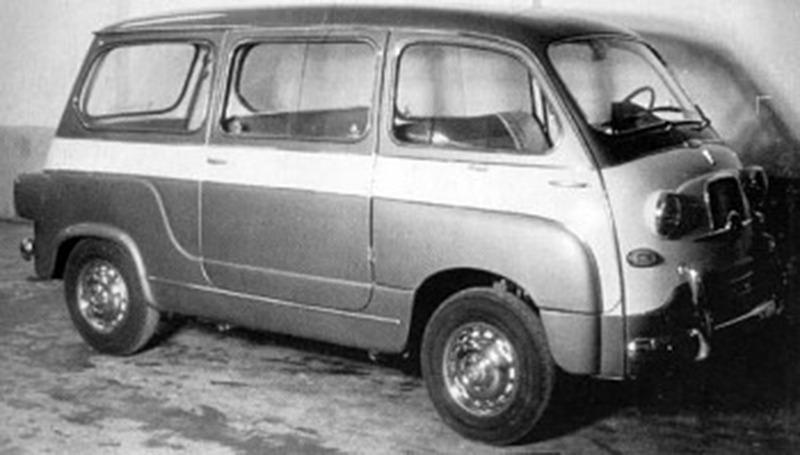 Fiat – 600 Multipla Giardinetta
