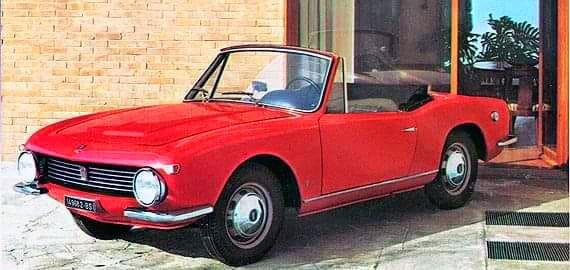 Fiat – 1200 Spider OSI