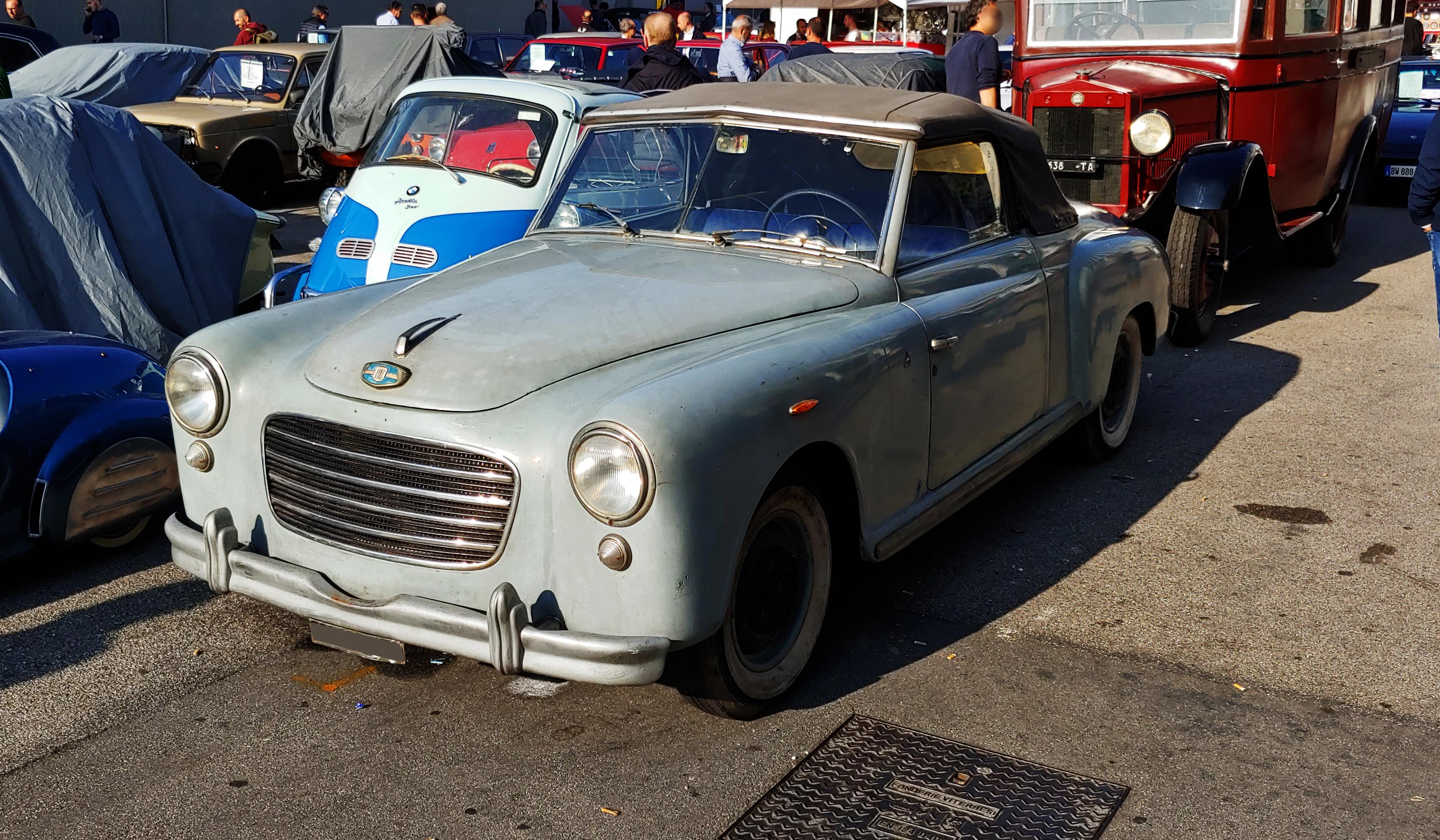 Fiat – 1400 Rondine Cabriolet