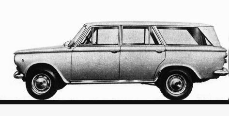 Fiat – 1300 Giardinetta Viotti