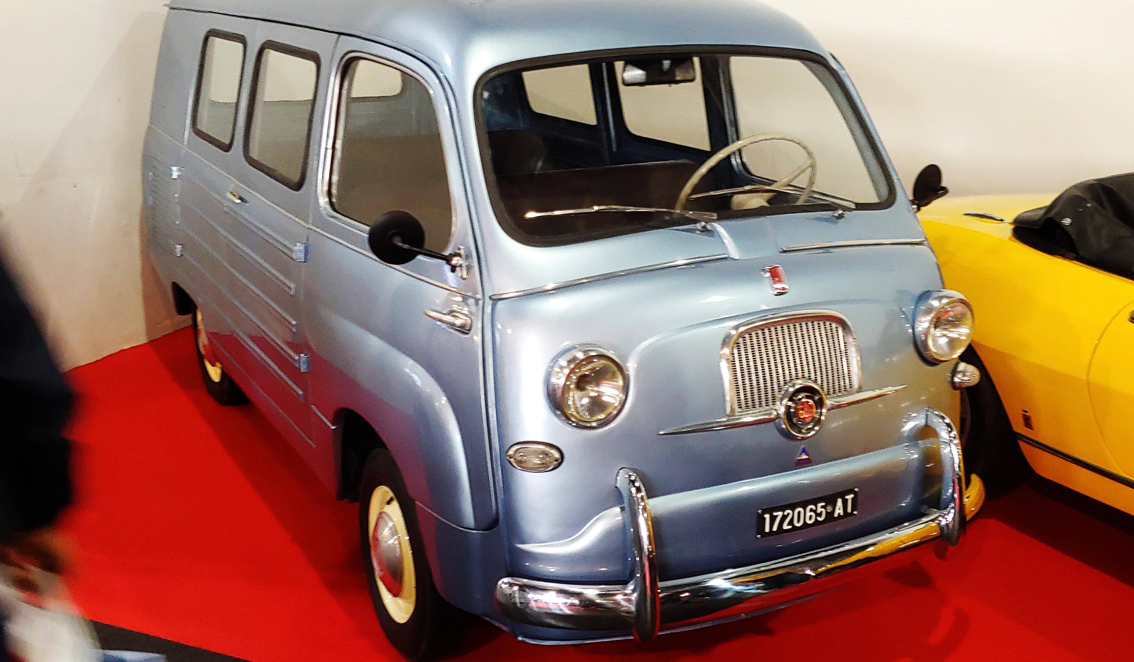 Fiat – 600 Promiscuo Monviso
