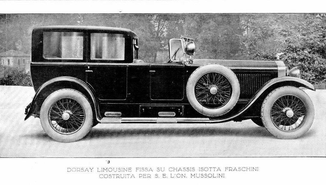 Isotta Fraschini – 8 Dorsay