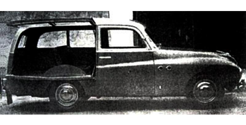 Fiat – 1100 E Giardiniera Riva