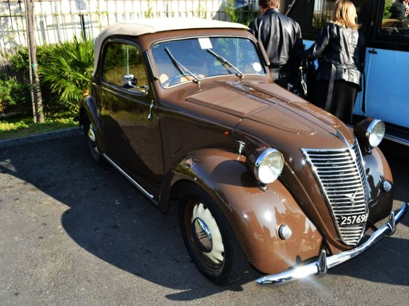 Fiat – 500 A Cabriolet Garavini