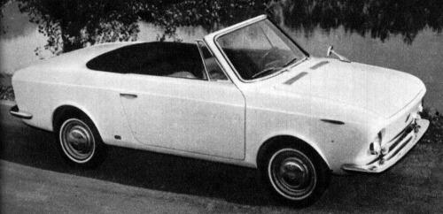 Fiat – 850 Spider Savio