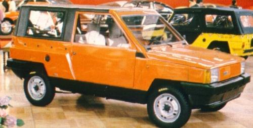 Fiat – Panda Jungla