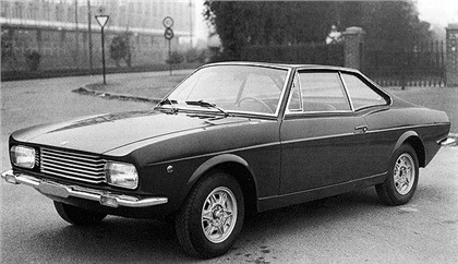 Fiat – 124 Coupé Savio
