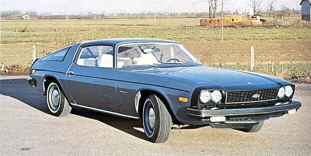 Chevrolet – Camaro Fastback