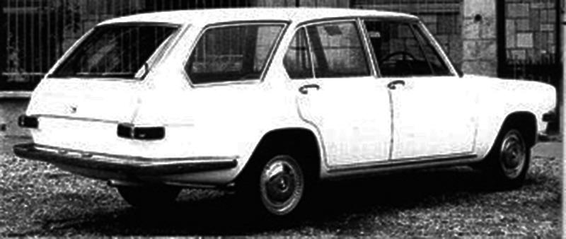 BMW – Glas 1800 GL Kombi