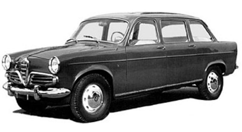 Alfa Romeo – Giulietta Berlina