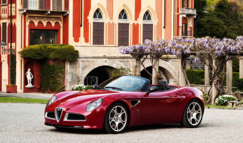 Alfa Romeo – 8C Spider Concept