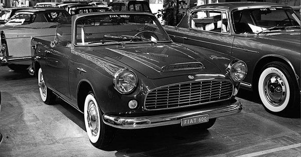 Fiat – 600 Spider Moretti