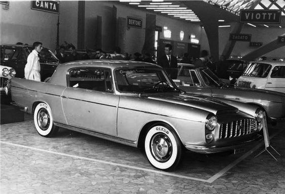 Fiat – 2100 Coupé Moretti