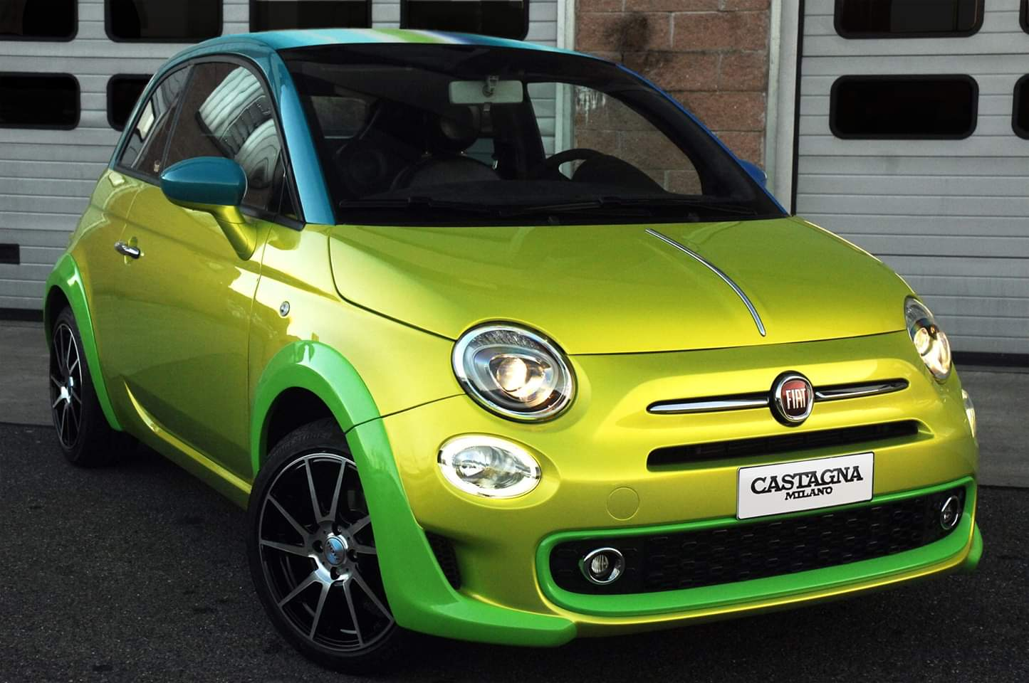 Fiat – 500 Yellow Chrome