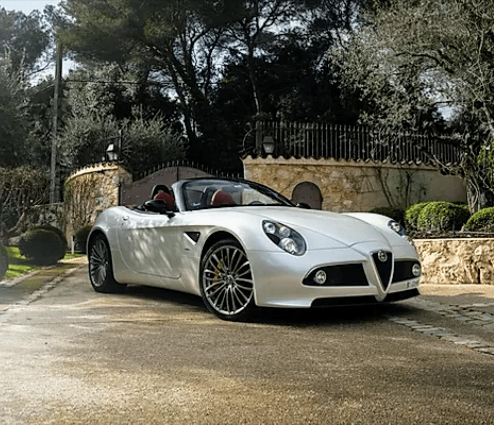 Alfa Romeo – 8C Spider Touring