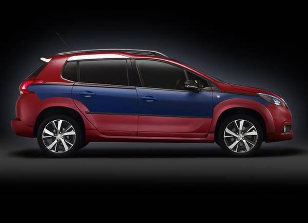 Peugeot 2008 Castagna, fuoriserie in chiave estiva