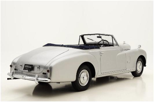 Bentley – Mark VI Cabriolet full