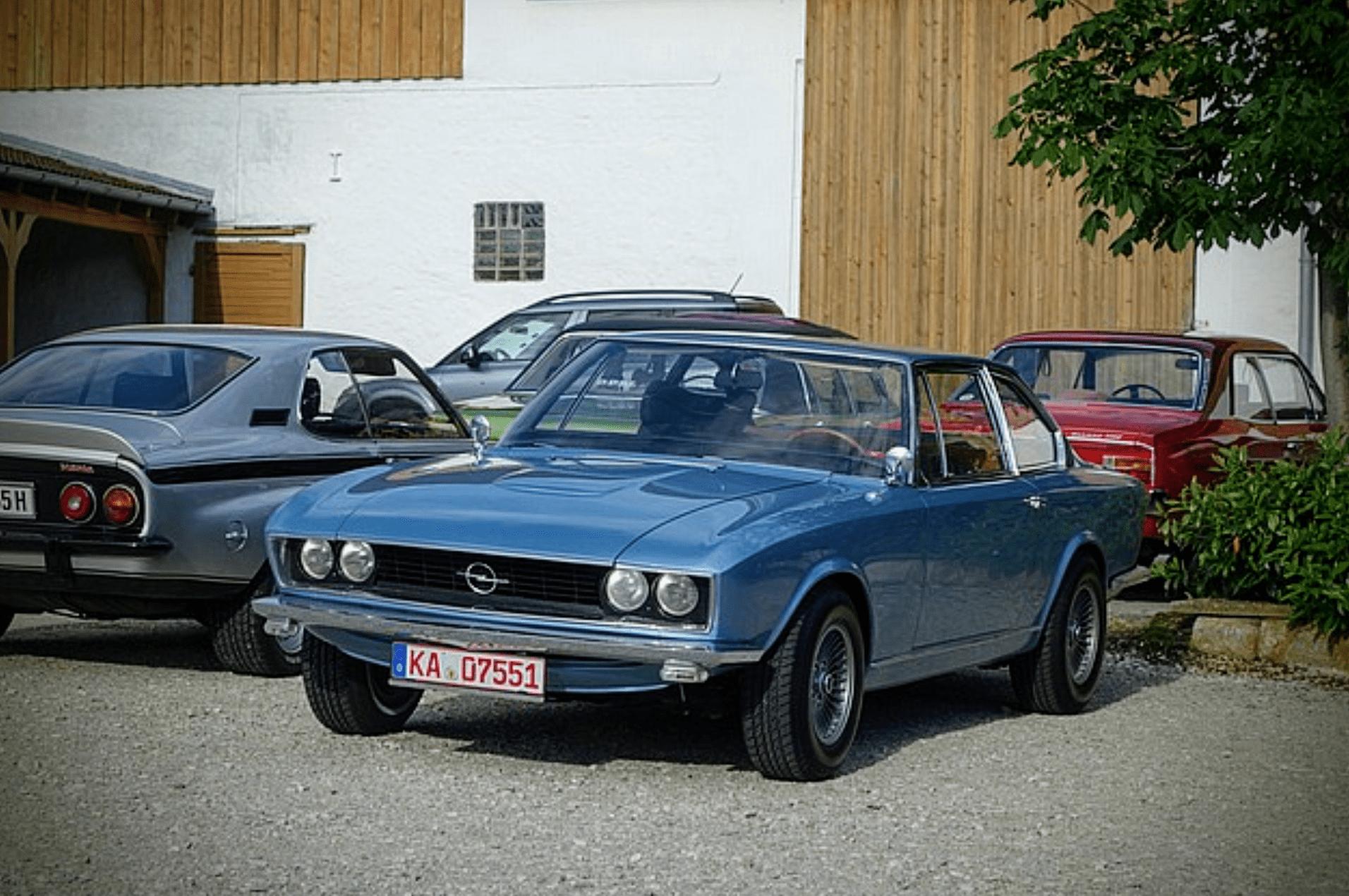 Opel – Admiral B Coupé
