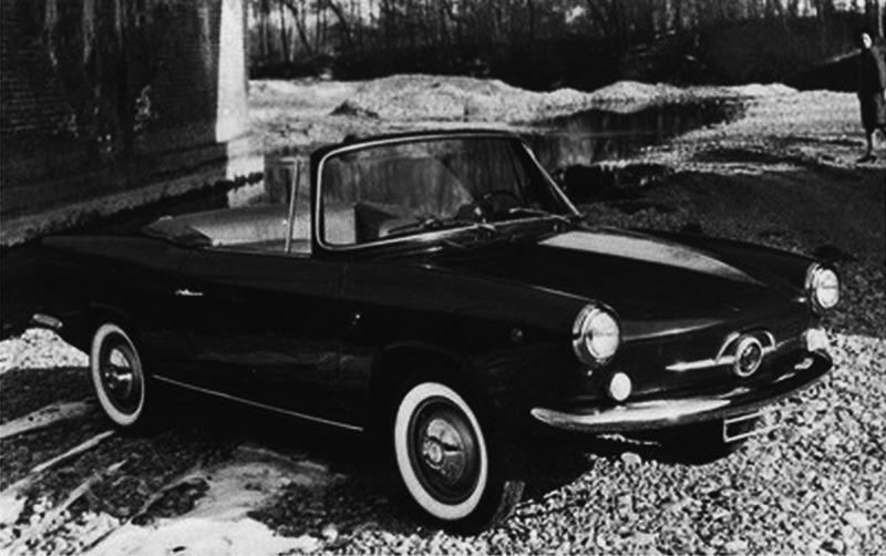 Fiat – 750 Spider Scioneri
