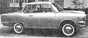 Fiat – 750 Berlinetta Vignale
