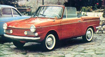 Fiat – 750 Spider Vignale