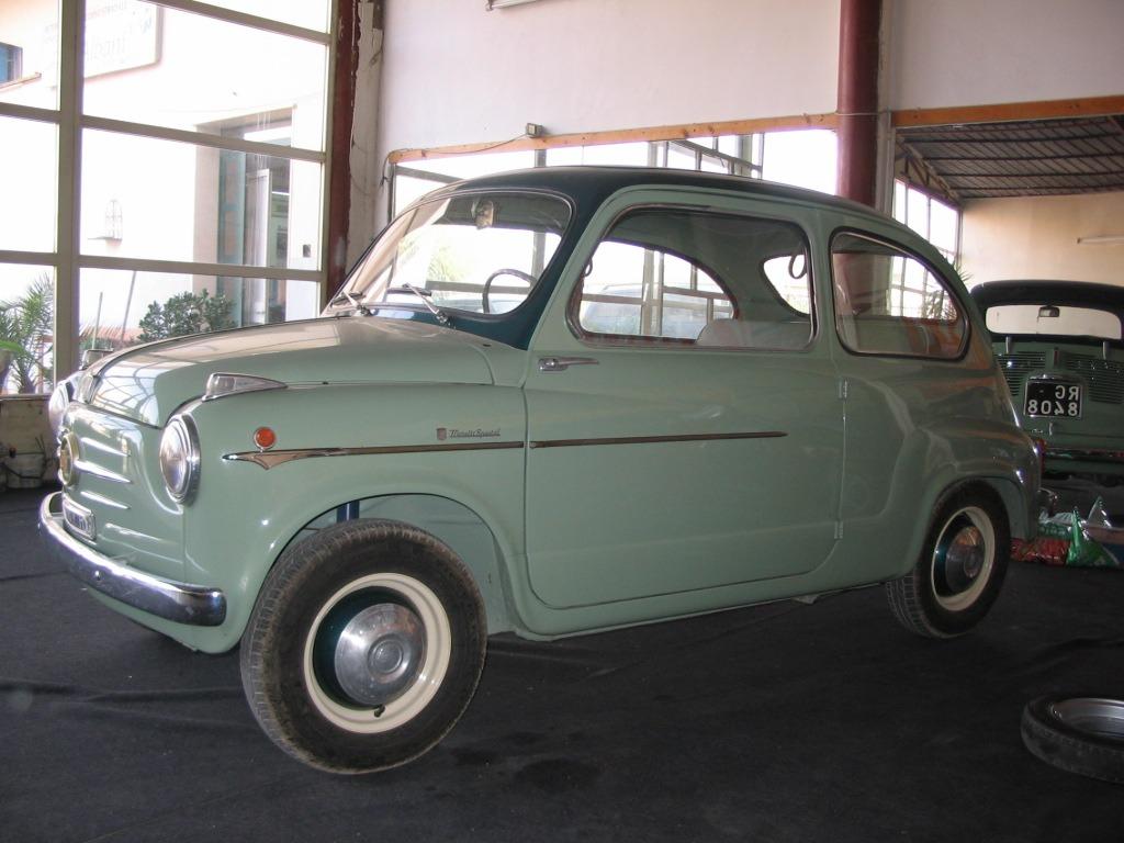 Fiat – 600 Moretti Special