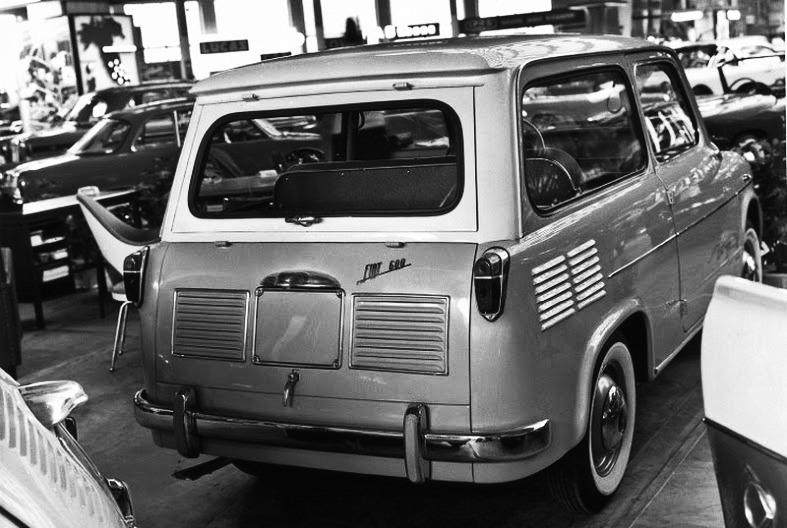 Fiat – 600 Giardinetta