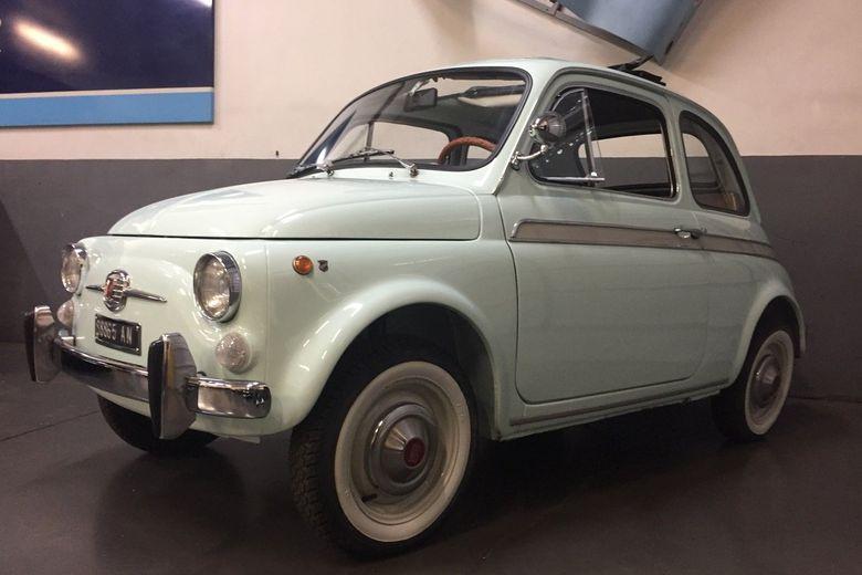 Fiat – 500 S Moretti