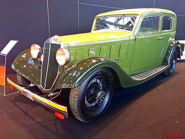1933 Lancia Astura SWB Farina 2016 Bologna Motorshow 600