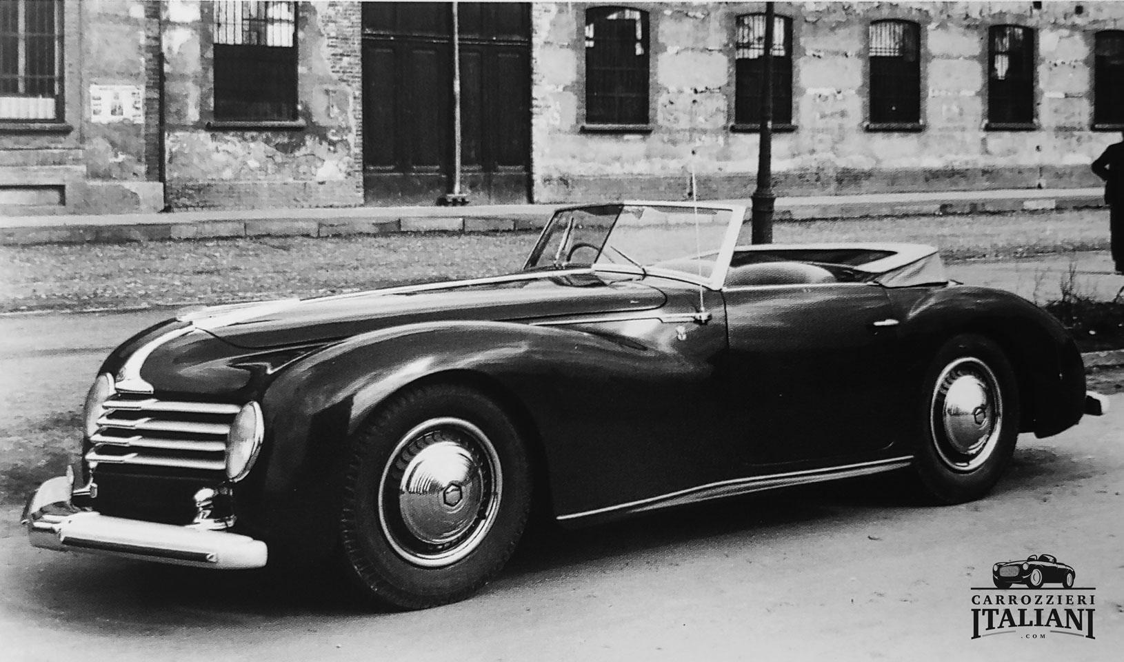 Alfa Romeo – 6C 2500 SS Cabriolet Farina