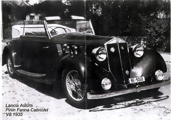 Lancia – Astura Cabriolet Pininfarina