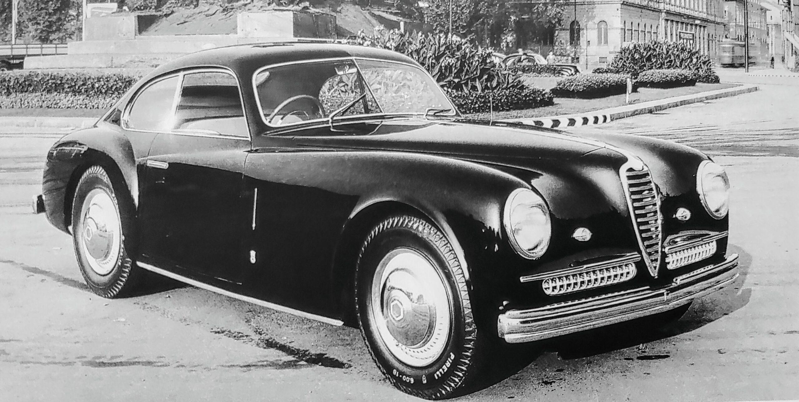 Alfa Romeo – 6C 2500 SS Berlinetta