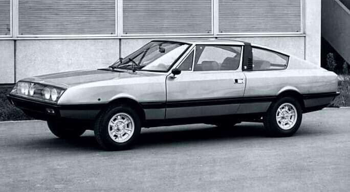 Fiat – 132 Coupé Moretti