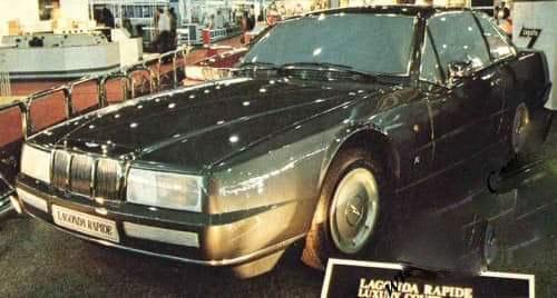 Aston Martin – Lagonda Rapide