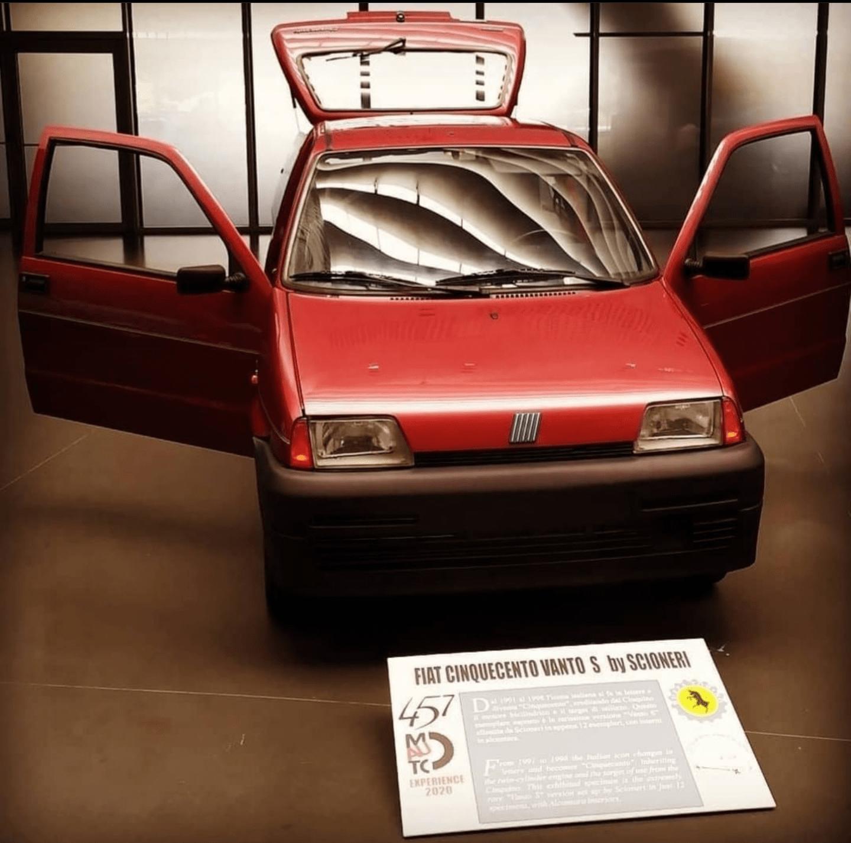 Fiat – Cinquecento S Vanto