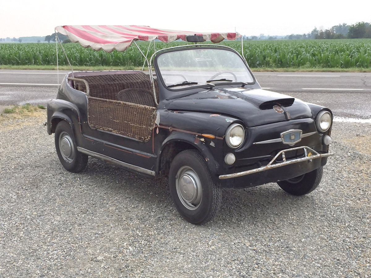 Fiat – 600 Spiaggina Canta