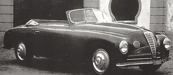 Alfa Romeo – 6C 2500 Cabriolet