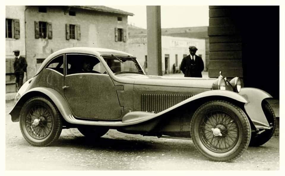 Alfa Romeo – 8C 2300 MM Zagato