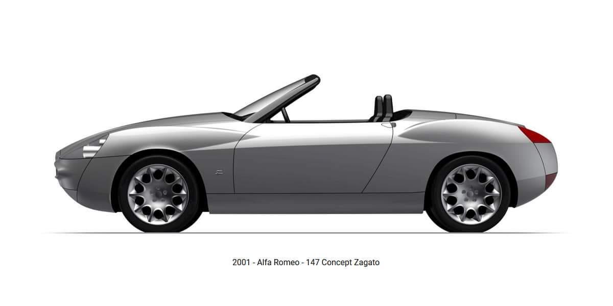 Alfa Romeo – 147 Barchetta