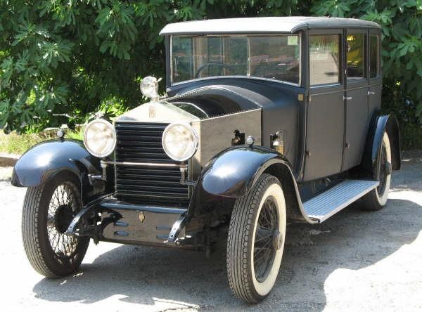 Rolls Royce – 20hp Weymann