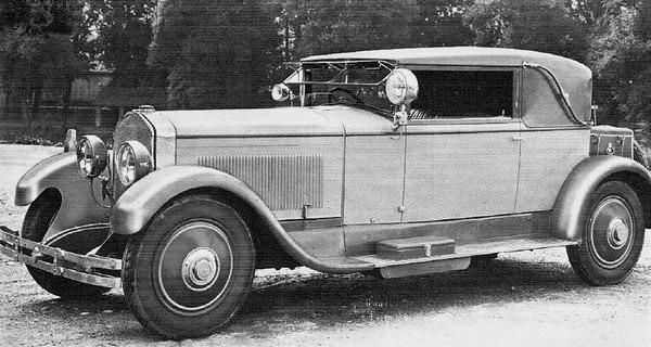 SPA – Tipo 25 Cabriolet