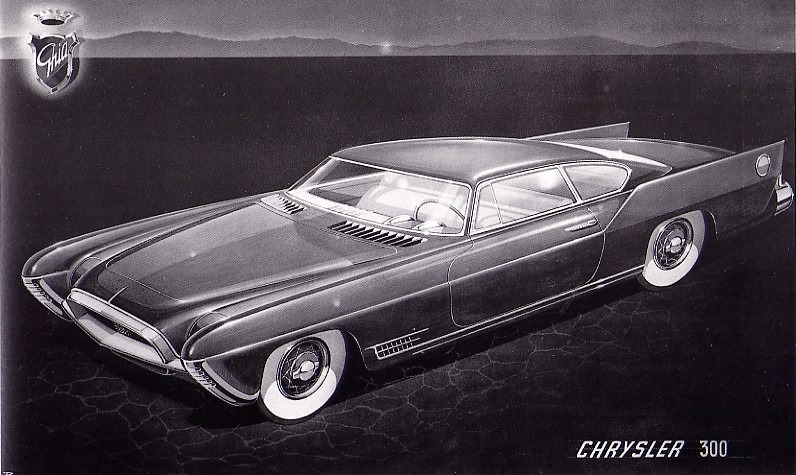 The Chrysler K-300 Special by Ghia