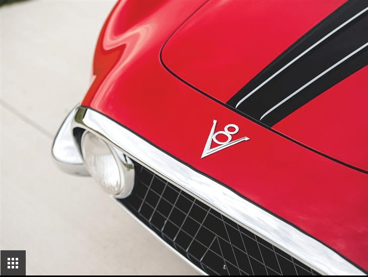 1954 Fiat 8V Coupe by Vignale (2)