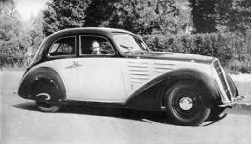 aerodinamica Ghia 1935~2