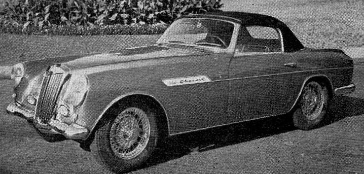 MG – TF Ghia