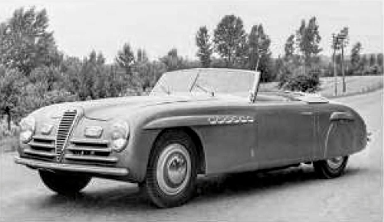 Alfa Romeo – 6C 2500 S Cabriolet Speciale