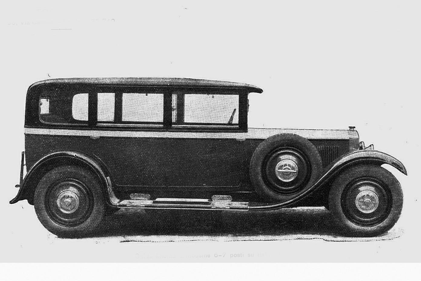 Itala – 61 Limousine Montescani